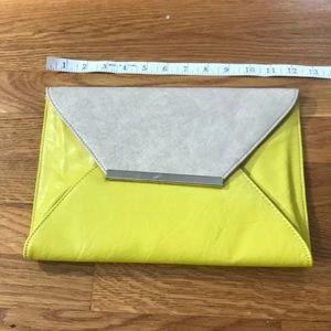 Chartreuse Envelope Bag